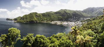 soufriere Obrazy Stock
