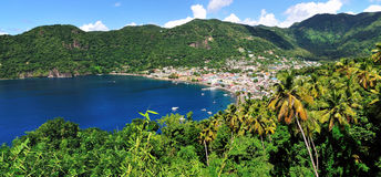 Soufriere Stock Image
