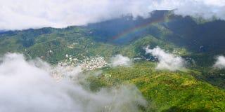 Soufriere - Heilige Lucia stock fotografie