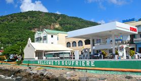Soufriere, Saint Lucia Stock Image