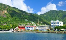 Soufriere, Saint Lucia Royalty Free Stock Images