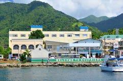 Soufriere St Lucia Arkivbild