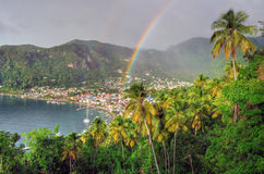 Soufriere - St. Lucia (Carribean) Royalty Free Stock Image