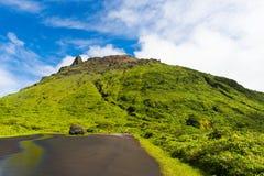 Soufriere volcano Stock Photo