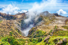 Soufriere volcano Royalty Free Stock Photo