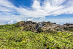 Soufriere volcano Royalty Free Stock Photography