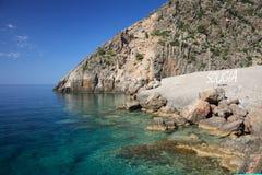 Sougia harbour Crete Stock Images