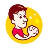Souhaite le logo Illustration Stock