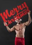 Souhaits de Joyeux Noël Photo libre de droits