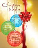 Souhaits de Noël Photos libres de droits