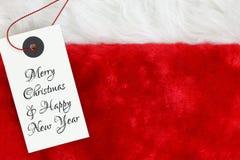 Souhaits de Noël Photos stock