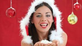 Souhaits de Noël banque de vidéos