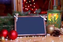 Souhaits de Noël - votre texte Photos libres de droits