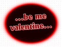 Souhaits de Valentine Photos stock