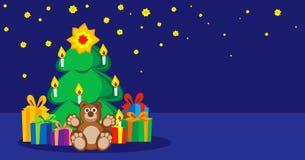 Souhaits pendant la nouvelle année, Noël Image stock