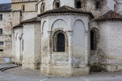 Souillac教会  库存照片