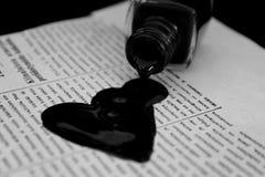Souillure de l'amour Photos libres de droits