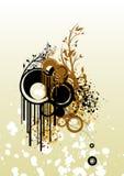 Souillures et textures Image libre de droits