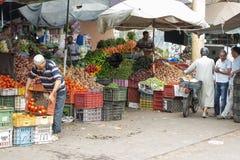 Souk - рынок города в Агадире Стоковое Изображение