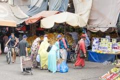 Souk - рынок города в Агадире Стоковая Фотография