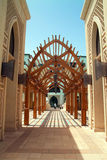 Souk Al Bahar, arabischer Torbogen Stockfotografie