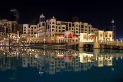 Souk Al Bahar em Dubai, UAE fotos de stock