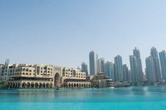 Souk Al Bahar handlarska hala targowa Obrazy Stock
