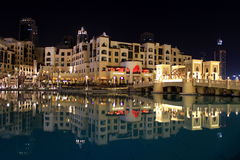 Souk Al Bahar nel Dubai, UAE Fotografie Stock