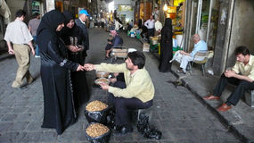Souk Al-Hamidiyeh in Damascus, Syria Royalty Free Stock Photography