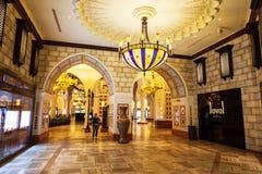 Souk Arabische markt, de Wandelgalerij van Doubai royalty-vrije stock afbeeldingen