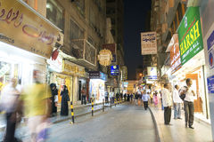 Souk in central manama bahrain Stock Image