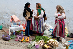 Souk in Chefchaouen, Morocco Royalty Free Stock Images