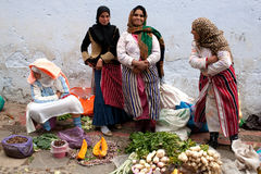 Souk in Chefchaouen, Morocco Stock Image