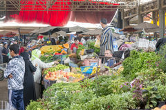 Souk - city market in Agadir. Royalty Free Stock Image