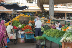 Souk - city market in Agadir. Stock Photos