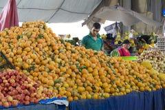 Souk - city market in Agadir. Stock Photos