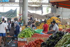 Souk - city market in Agadir. Royalty Free Stock Photo