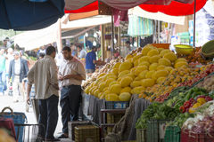 Souk - city market in Agadir. Royalty Free Stock Photos