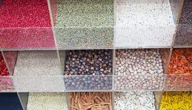 Souk d'épice à Dubaï Photo stock