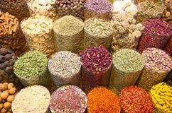 Souk d'épice à Dubaï Images libres de droits