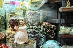 Souk d'épice dans le bureau Dubaï Images stock
