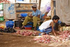 Souk de Marruecos Fotografía de archivo libre de regalías