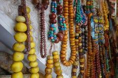 Souk di Marrakesh nel Marocco, Africa Fotografia Stock