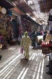 Souk en Marrakesh Imágenes de archivo libres de regalías