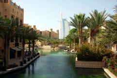 Souk Madinat Jumeirah, Объединенные эмираты стоковые изображения rf