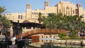 Souk Madinat Jumeirah beim Dubai stock video