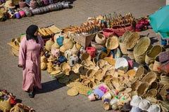 Souk in Marrakesh Royalty Free Stock Images
