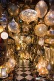 Souk Marrakesh Marruecos de las lámparas Foto de archivo libre de regalías
