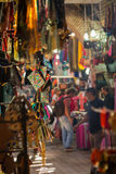In the souk of Marrakesh Medina Royalty Free Stock Photos