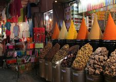 Souk in medina royalty free stock images